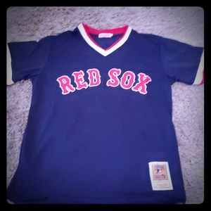 Boston red Sox alt blue Jersey Ted Williams